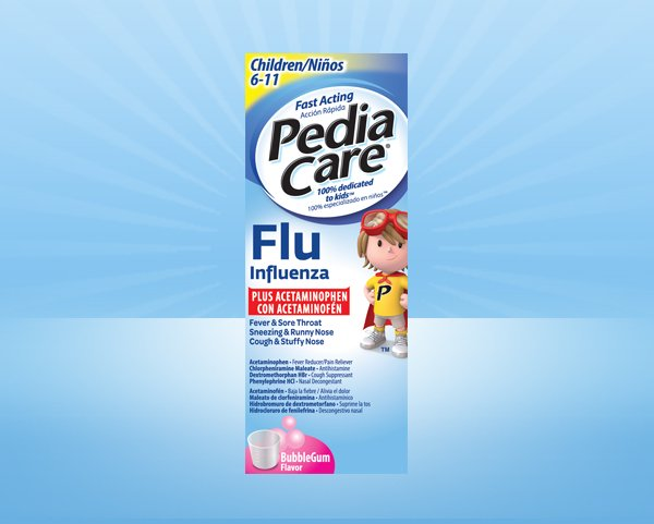 PediaCare® Children Fever Reducer Plus Flu With Acetaminophen
