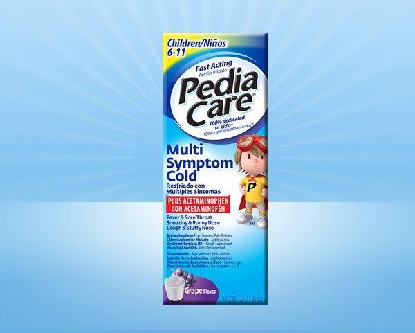 PediaCare® Kids Multi-Symptom Cold Medicine