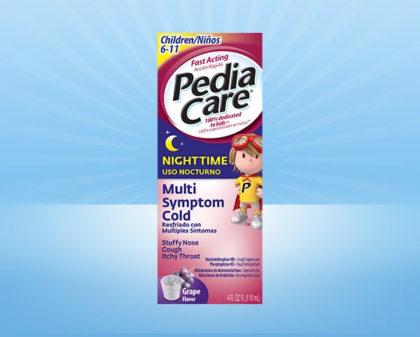 PediaCare® Children Nighttime Multi-Symptom Cold (No Acetaminophen