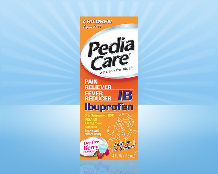 PediaCare® Children Fever Reducer with Ibuprofen