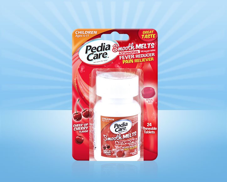 PediaCare® Smooth Melts™ Children Fever Reducer